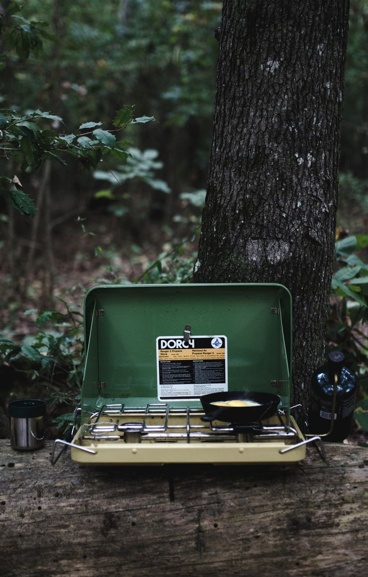 Portable, retro cookstoves are a fun addition to your next camping trip.