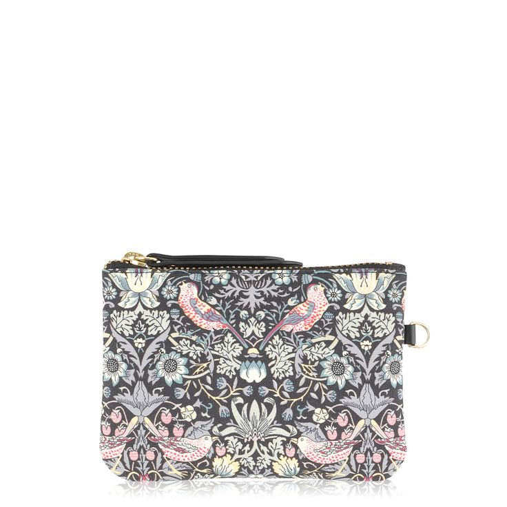 The Radley/William Morris zip-top pouch is a neat little purse to keep your coins and keys in order.