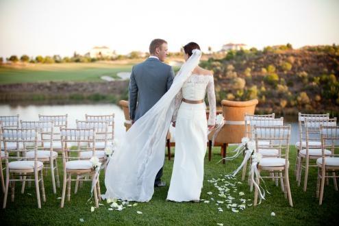 Stunning wedding at Monte Rei, Algarve