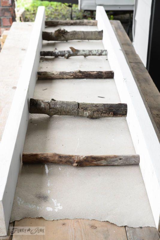 212 best decor ladders images on pinterest diy vintage for Funky junk home decor newfoundland