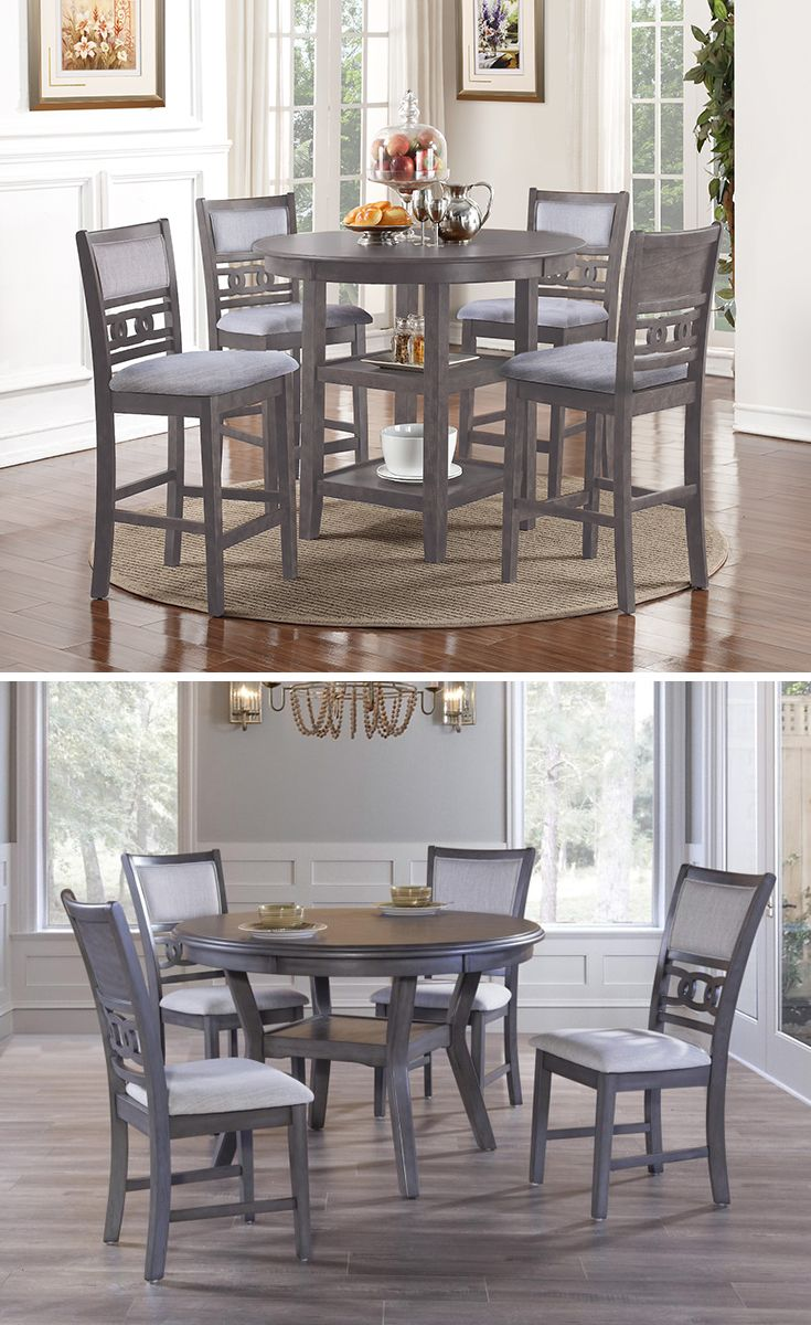 Contemporary And Stylish This Dining Table And Chair Set Will