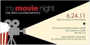 a movie invitation - Google Search