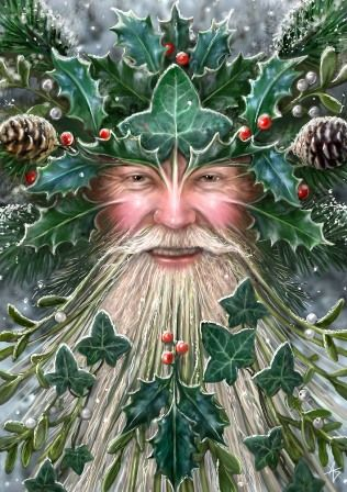 The Holly King - or as we know him today Santa Claus.