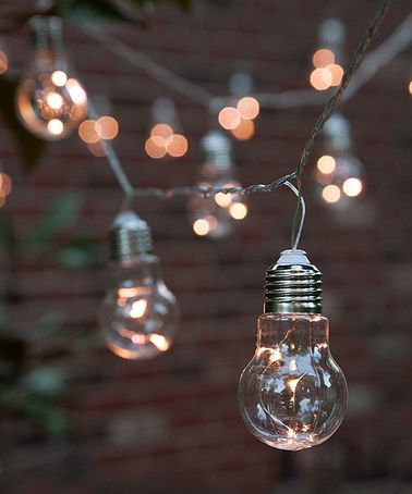 Look what I found on #zulily! Warm White 9' Edison Bulb Light String Set #zulilyfinds