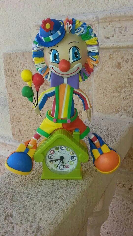 Fofucho reloj payaso