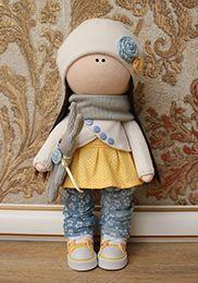 Интерьерная кукла Мириам