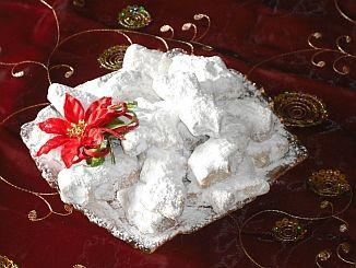 Traditional Greek Christmas Sweets - Kourambiedes