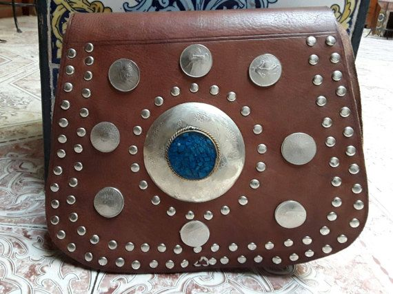 Leather brown saddle bag womens handbag woman's gift