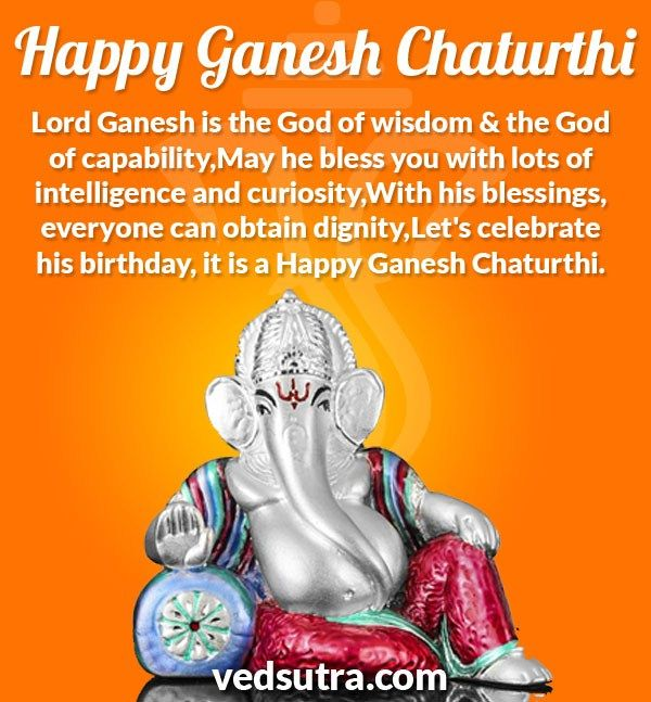 Ganpati Blessing Quotes: The 25+ Best Happy Ganesh Chaturthi Wishes Ideas On