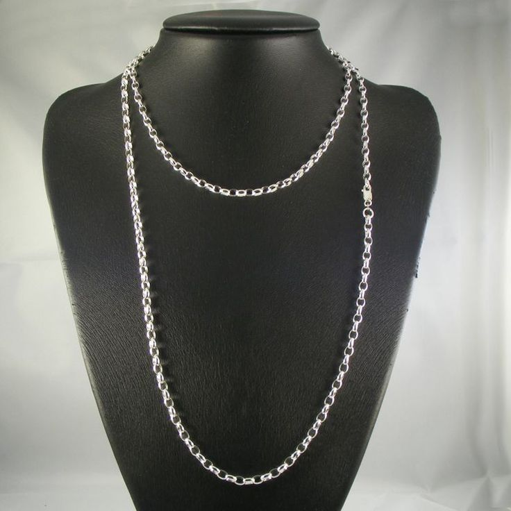 Sterling Silver Belcher Chain - MM-BEL-0019