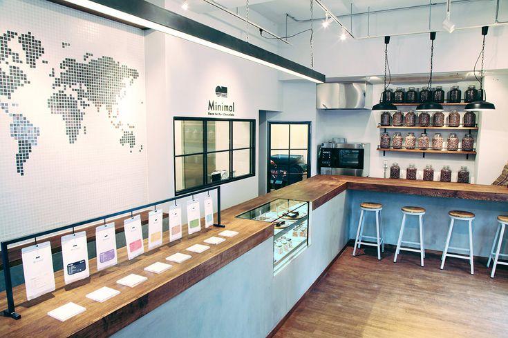 Minimalはカカオ豆の仕入・選別・焙煎・摩砕・調合・成形までのチョコレート製造工程の全てを自社工房で一貫して行う-Bean to Bar Chocolate-専門店です。