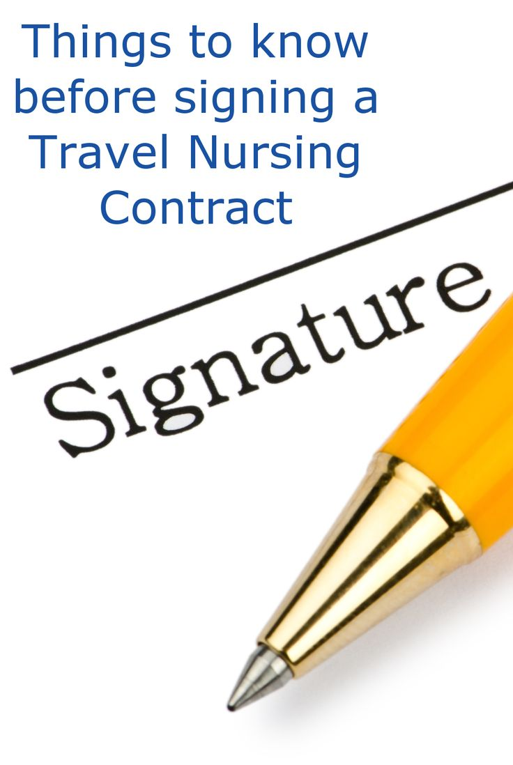 Travel nursing contracts are loaded with clauses. Here are some important considerations.