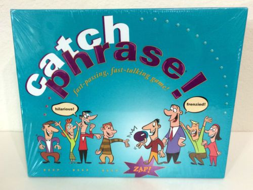 CatchPhrase-Board-Game-SEALED-Catch-Phrase-1994-Parker-Bros-Party-Boardgame