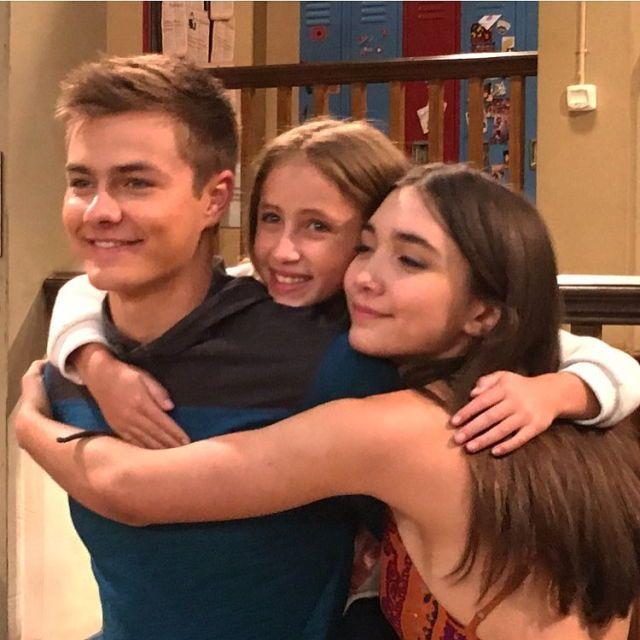 Rowan Blanchard, Peyton Meyer and Ava