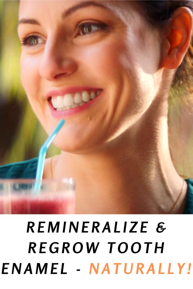 Remineralize And Regrow Tooth Enamel Naturally! Beauty