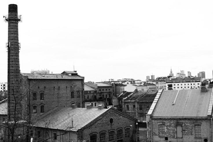 """""""Koneser"""" view from 4th floor  / photo Tomasz Rykaczewski"""