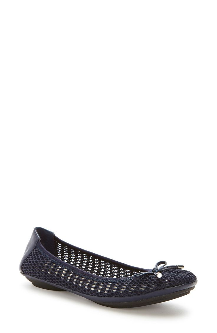 Free shipping and returns on Me Too 'Felise' Flat (Women) at Fashiondoxy.com. A metal-tipped bow rests atop the toe of a trend-right mesh ballet flat fitted with a foam-cushioned footbed and set on a flexible rubber sole
