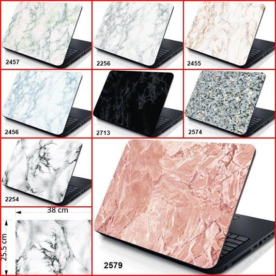 Dessins de marbre pour ordinateur portable housse peau