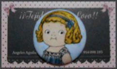 Botón Muñeca Recortable 4cm por Tejidosaloloco en Etsy