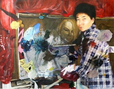 "Saatchi Online Artist Sinkovics EdE; Painting, """"Xiaolai dash"""" #art"