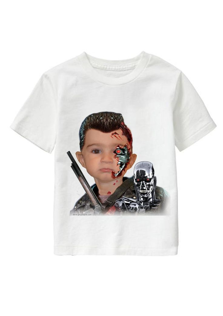 Machine Man personalized T-shirt www.ghigostyle.com