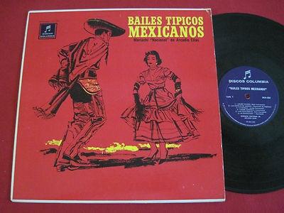Bailes Tipicos Mexicanos (Arcadio Elias):  Jarabe Tapatio (Baile Nacional de Mexico); Espuelas de Amazoc (Zapateado, Puebla); La Botella (Jarabe, Jalisco); Jarabe Zapoteca (Region Zapoteca, Oaxaca); Las Chiapanecas (Vals, Chiapas); El Bolonchon (Zapateado, Chiapas); Jarabe Mixteco (Region Mixteca, Oaxaca); La Zandunga (Vals del Istmo de Tehuantepec, Oaxaca); Danza de Los Matachines, Jarabe Michoacano (Region Central de Morelia, Michoacan); La Varsoviana (Epoca de Porfirio Dias, Mazurka).
