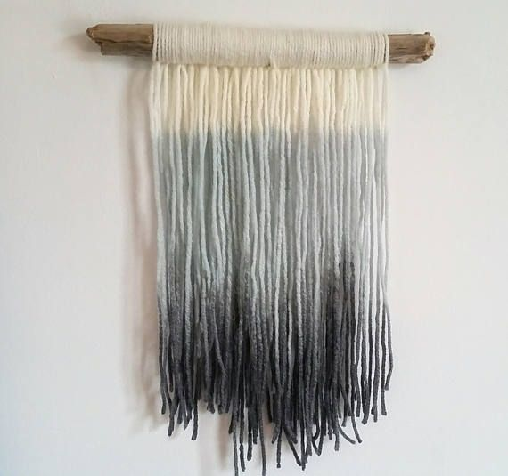 Hey, I found this really awesome Etsy listing at https://www.etsy.com/ca/listing/533198126/handmade-tapestry-fog-fibre-art-dip-dye