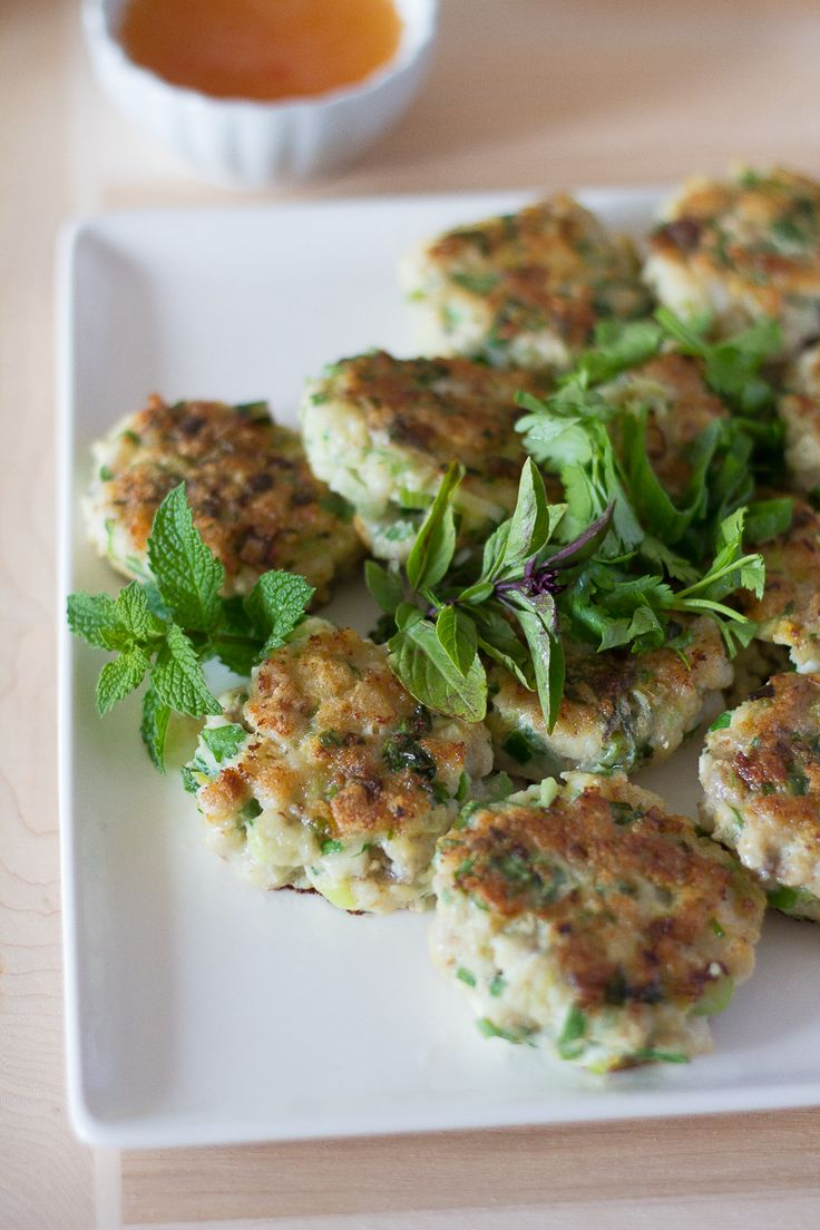 Jamie Oliver Sweet Spicy Asian Fish Cakes