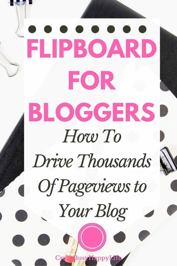 Flipboard for bloggers. How the Flipboard app can help you drive thousands of pageviews to your blog or website. Click through to read more or pin now and read later.