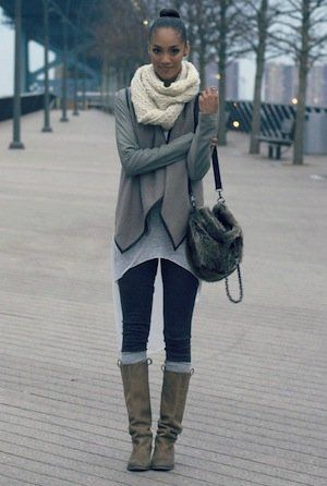 Layers of gray