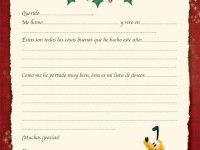 Carta a Papá Noel de Disney