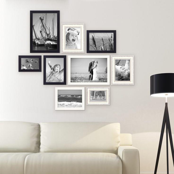 ber ideen zu bilderrahmen set auf pinterest. Black Bedroom Furniture Sets. Home Design Ideas
