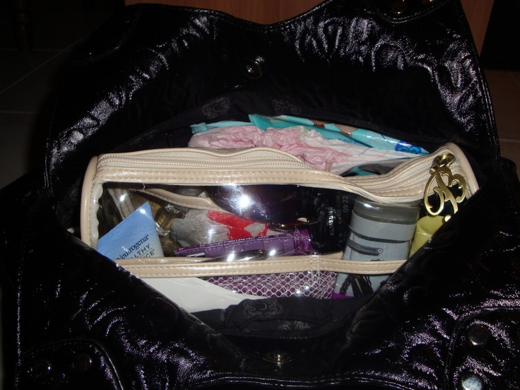 Handbag nice and tidy. #BorneNakedmakeover