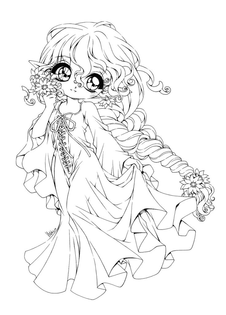 9853 best coloring books, omalov�nky images on pinterest Cute Animals anime boy coloring pages Anime Cat Coloring Pages