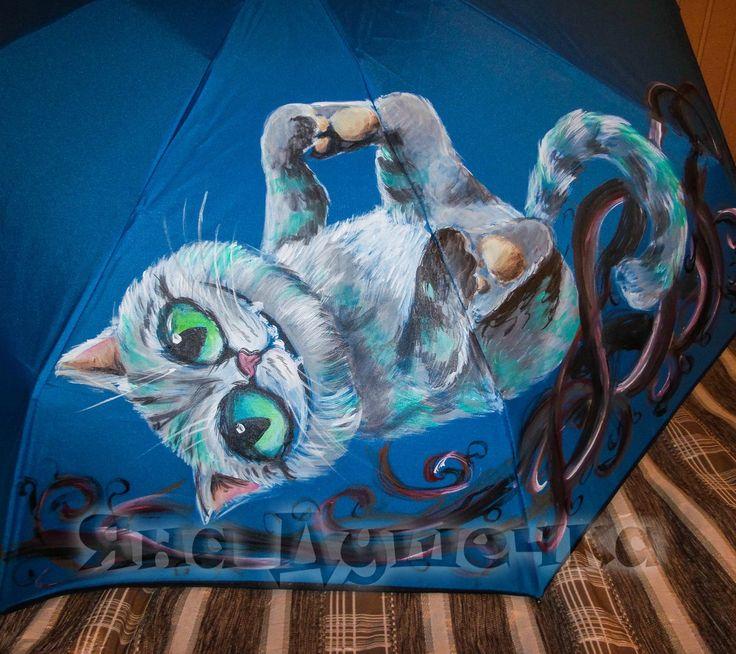Милый чеширский котик порадует вас в любую, даже саму хмурую погоду Ручная роспись зонтов. Распишу вам зонт на любую тематику. Можно заказать точно такой же. Цена аналогичного зонта полуавтомата- 2690 руб. Срок изготовления 3-5 дней. 7-911-924-39-14 Звоните, пишите, покупайте!  belkastyle.ru #зонт #дизайн #дизайнер #чеширскийкот #кот #котик #смешнойкот #художник #рисунок #женскийзонт #купитьзонт #зонтназаказ #зонтскотом #арт #искусство #творчество #спб #москва #стильно #оригинально…