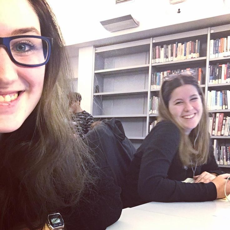 Who says you can't have fun in the library?