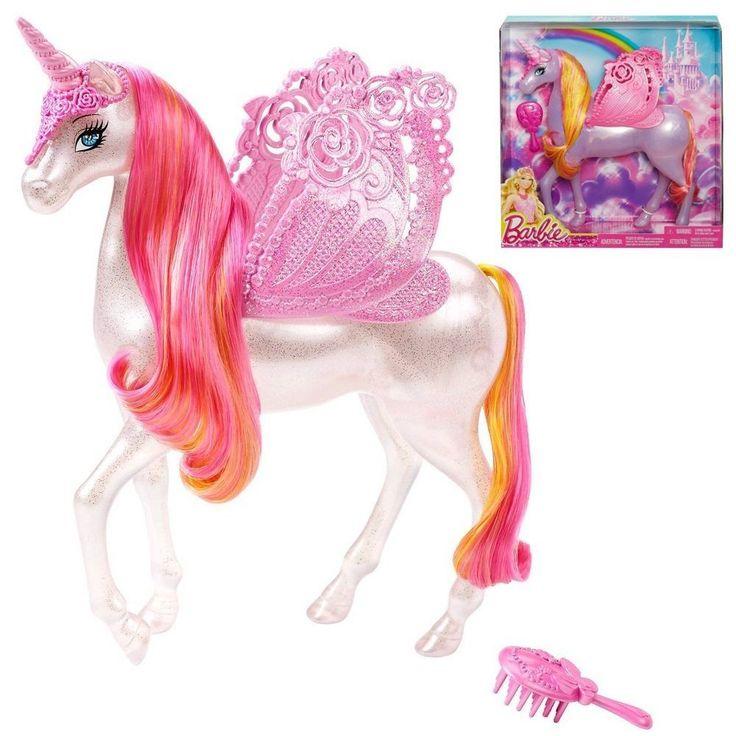 Barbie - Pferd Einhorn Pegasus