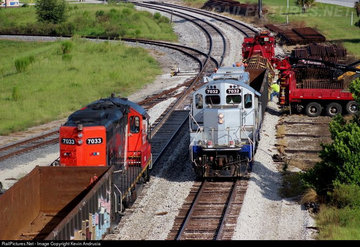 Photo FCEN 7032 Florida Central EMD GP9