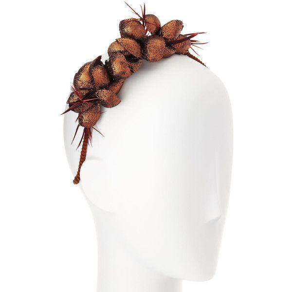 Gigi Burris Alchemia Silk Flower Headband ($375) ❤ liked on Polyvore featuring accessories, hair accessories, silver, hair band headband, flower headwrap, silk headband, flower hair accessories and twisted headwrap