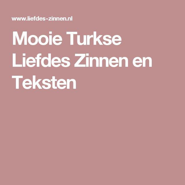 Mooie Turkse Liefdes Zinnen en Teksten