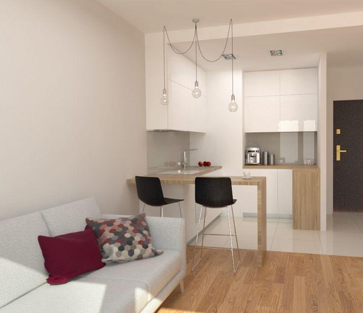 Dwupokojowe, designerskie mieszkanie na wynajem, idealne dla pary lub singla, położone na terenie zamkniętego, chronionego osiedla w centrum Katowic. Wnętrze zaaranżowano w miejskim, nowoczesnym stylu. Kremowe ściany idealnie komponują się z jasnymi, drewnianymi panelami podłogowymi. Duże okna nadają pomieszczeniu przestronny wygląd oświetlając przy tym mieszkanie naturalnym światłem.