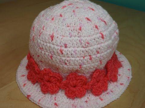 7 mejores ideas en gorro tipo sombrero en Pinterest | Sombreros de ...