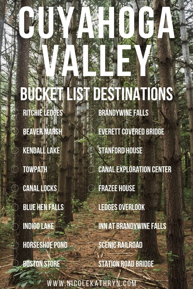 Ultimate Guide to Cuyahoga Valley Natl Park
