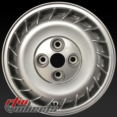 "15"" Mitsubishi Galant oem wheels for sale 1989-1991 Silver rims 65671 - https://www.rtwwheels.com/store/shop/15-mitsubishi-galant-oem-wheels-sale-silver-stock-rims-65671/"