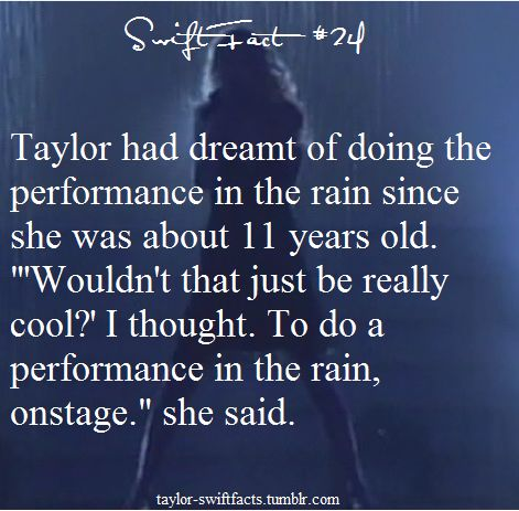 Taylor Swift Facts  Fearless Tour: Should've Said No. BY FAR MY FAVORITE PERFORMANCE OF HER EVER!!!