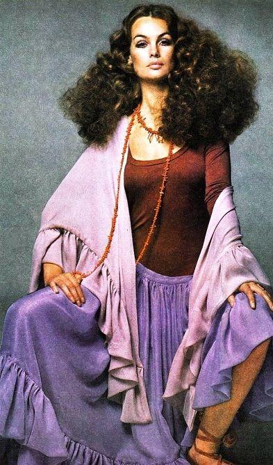 Jean Shrimpton Vogue 1969