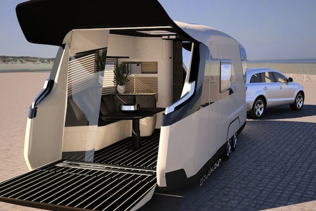 RV Of The Future Entirely Controlled By Apps - PSFK