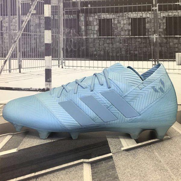 04a9df4648f9 adidas Men's Nemeziz Messi 18.1 FG Ash Blue/White DB2089 (eBay Link ...