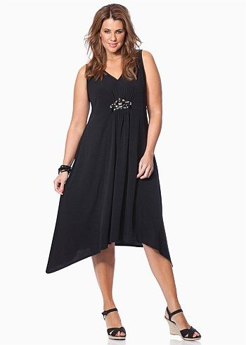 #Virtu Onyx Dress #plussize #curvy