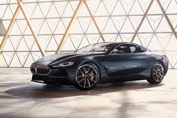 BMW 8 Serisi Concept. Bu olacakların sadece bir habercisi. Geçmiş ve geleceği bir araya getiren yeni tasarım fikirleri, heyecan verici dinamikler ve modern lüks anlayışı ile onu daha ilk bakışta diğerlerinden ayırt edebileceksiniz.
